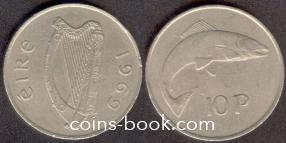 10 пенсов 1969