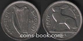 3 пенса 1934