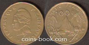 100 франков 2005
