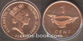 1 цент 2005