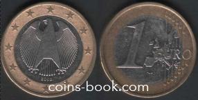 1 евро 2002