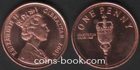 1 пенни 2005