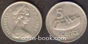 5 центов 1982