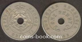 1 пенни 1942