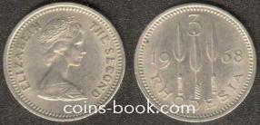 3 пенса 1968
