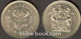5 центов 1973