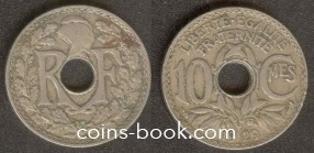 10 centimes 1929