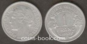 1 franc 1957