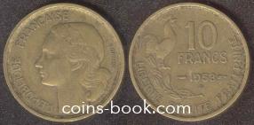 10 франков 1953