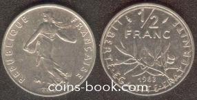 1/2 франка 1983