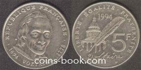 5 франков 1994