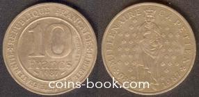 10 francs 1987