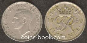 6 пенсов 1950