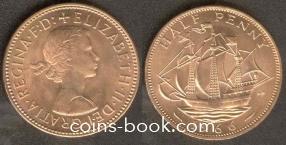 1/2 пенни 1966
