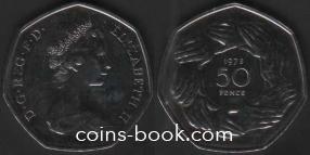 50 новых пенсов 1973