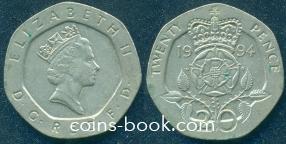 20 пенсов 1994