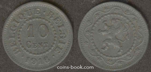 10 centimes 1916