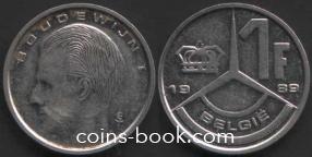 1 франк 1989