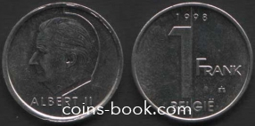 1 франк 1998