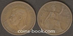 1 пенни 1938