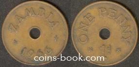 1 пенни 1966