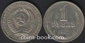 1 rouble 1987