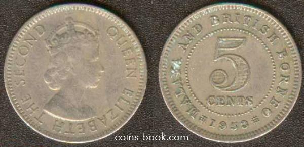 5 центов 1953