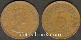 5 центов 1965