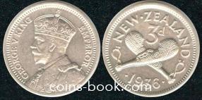3 пенса 1936