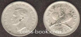 3 пенса 1943