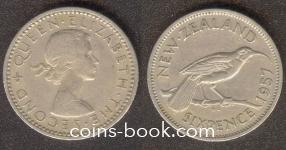 6 пенсов 1957