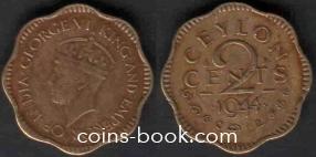 2 цента 1944