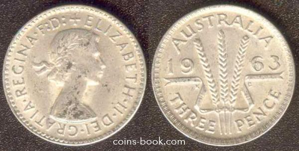 3 пенса 1963