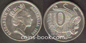 10 cents 1998