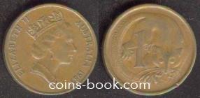 1 цент 1987