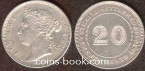 20 центов 1878