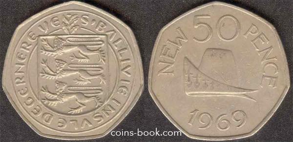 50 новых пенсов 1969