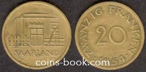 20 франков 1954
