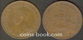 1 пенни 1935