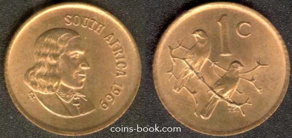 1 cent 1969