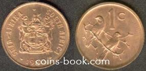 1 цент 1980