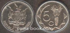 5 центов 2002