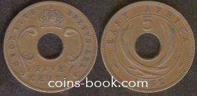5 центов 1952