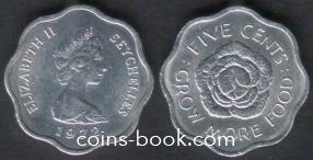 5 центов 1972