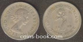 3 pence 1962