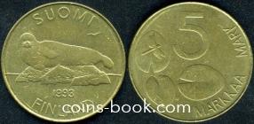 5 марок 1993