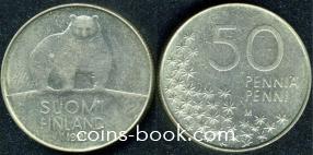 50 пенни 1991