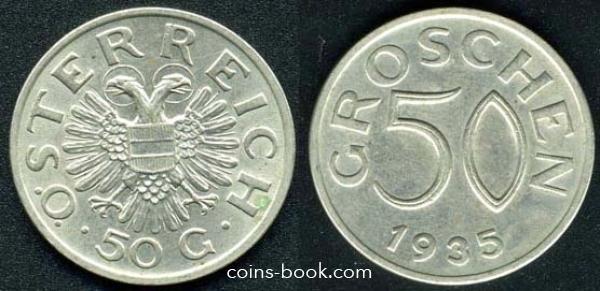 50 groschen 1935