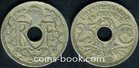 25 сантимов 1918