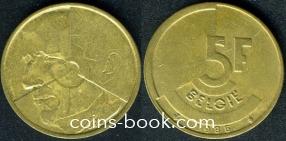 5 франков 1986